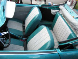Ghiaseats Inch on 1974 Karmann Ghia